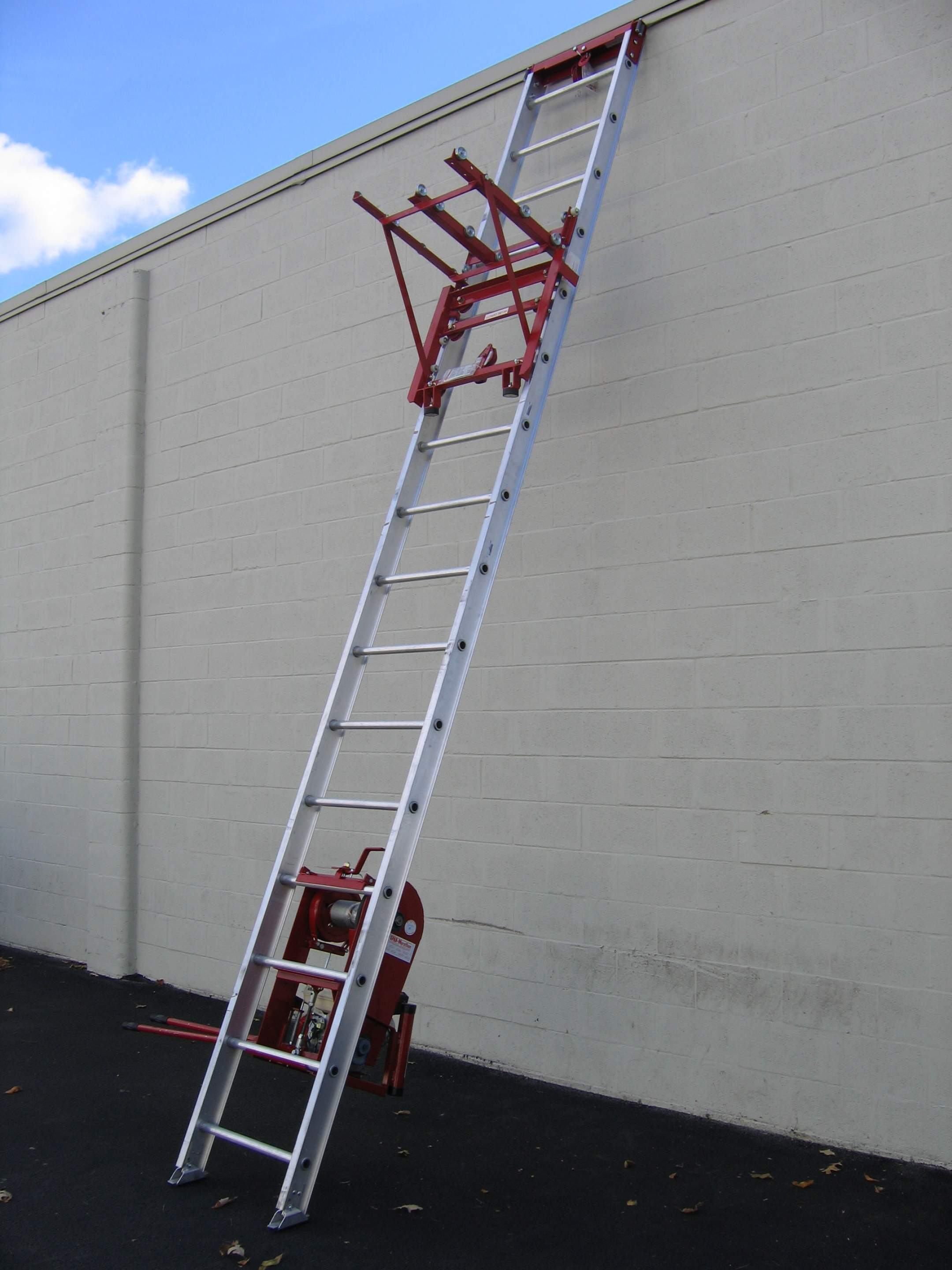 ladder hoist - Marathon Roofing Products, Inc